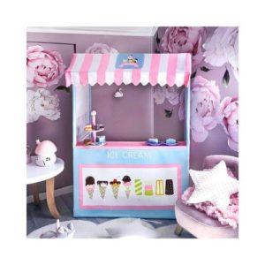Tienda de helados de juguete en tela ecológica de Tiny Land