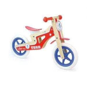 Bicicleta sin pedales de madera de Vilac. Juguetes ecológicos