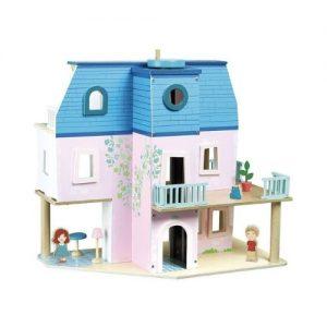 Casas de muñecas de madera de Vilac. Juguete ecológico