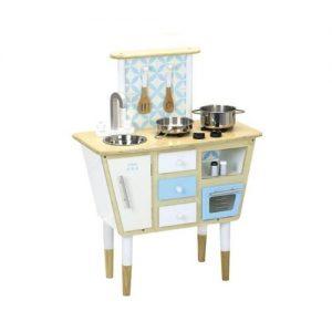 Cocina de madera de juguete vintage de Vilac. Juguete ecológico
