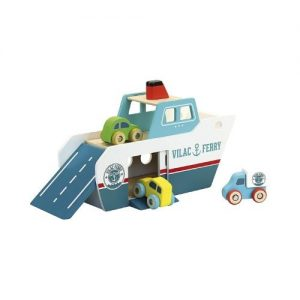 Ferry de juguete en madera de Vilac. Juguetes ecológicos