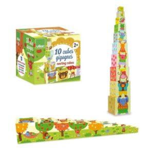 Juego ecológico de cartón de apilables de Vilac