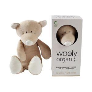 Peluche de oso para bebés de tejido ecológico. Regalos para babyshower