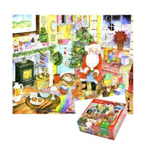 Puzzle con temática de navidad de 50 piezas de la marca Jaques London