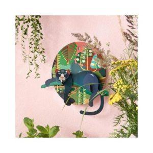 Figura de puma decorativa en cartón ecológico de Studio Roof